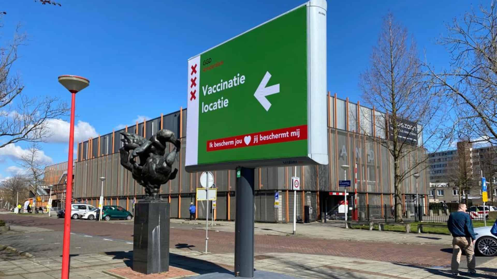 expospaces vaccinatiestraat ggd amsterdam